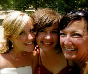 three amigas!